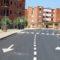 La calle Goya ya está abierta al transito tras las obras de renovación