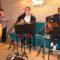Andrés Martínez no se encontró 'a solas' en el concierto ofrecido en la Pizzería La Bona Tábula