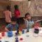 Los pequeños 'cavernícolas' mostraron su arte rupestre