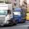 La Asociación de Conductores honra a su patrón San Cristóbal con maniobras y el desfile de camiones