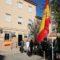 La Guardia Civil honra la bandera española en el Día del Pilar