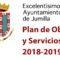 El pleno aprueba los proyectos del Plan de Obras y Servicios 2018/19