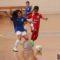 María Ortega probó con la Selección Murciana benjamín femenina