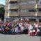 El bastidor de la peña El Zagalejo encabezó a la delegación de Jumilla en el Bando de la Huerta