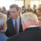 La alcaldesa estuvo presente en la visita de Pedro Sánchez a Murcia