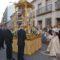 La procesión del Corpus Christi recupera su espíritu devoto con una multitudinaria participación