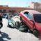 Emergencias realiza el simulacro de un accidente de tráfico con atrapados