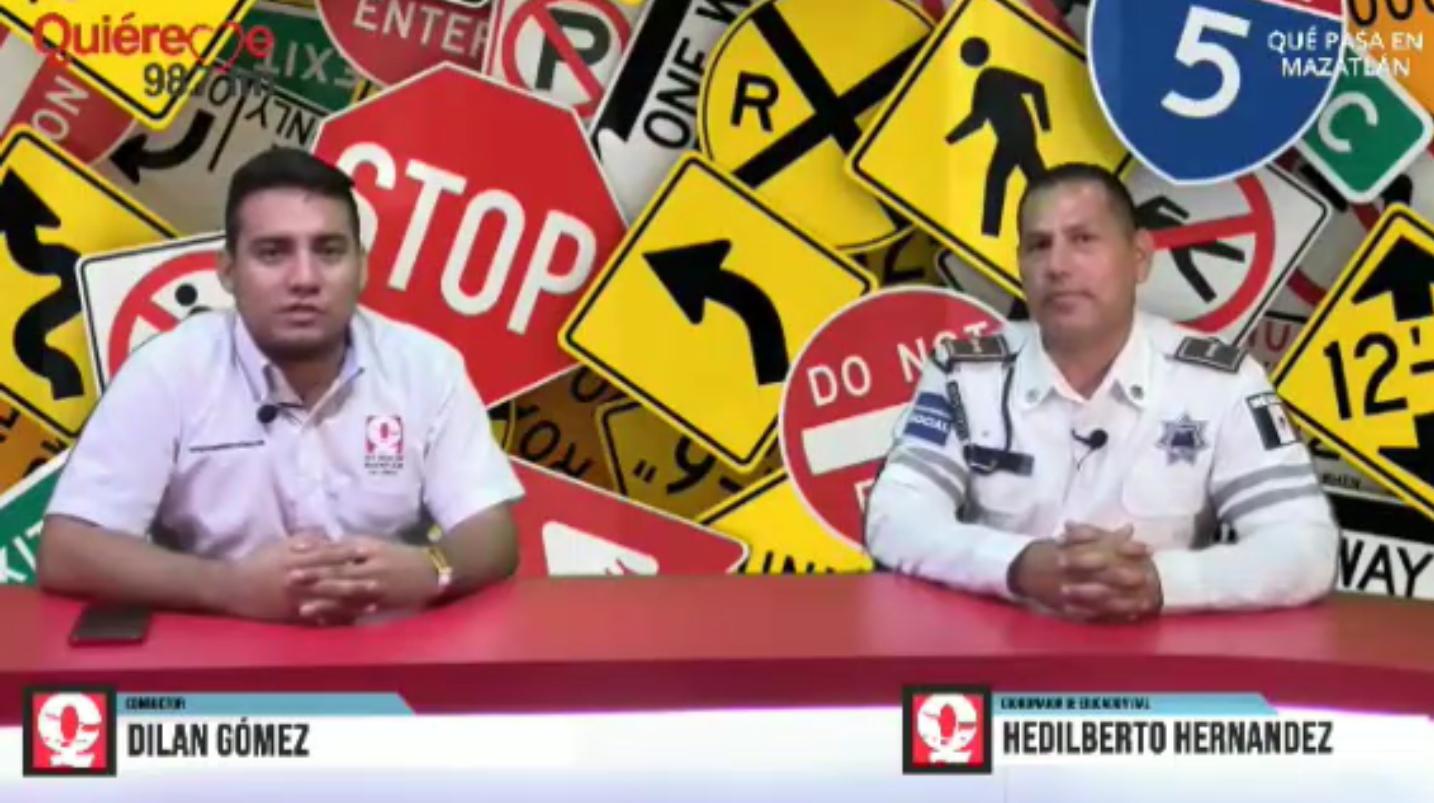 Un agente de México gestiona un centro vial como el de Jumilla