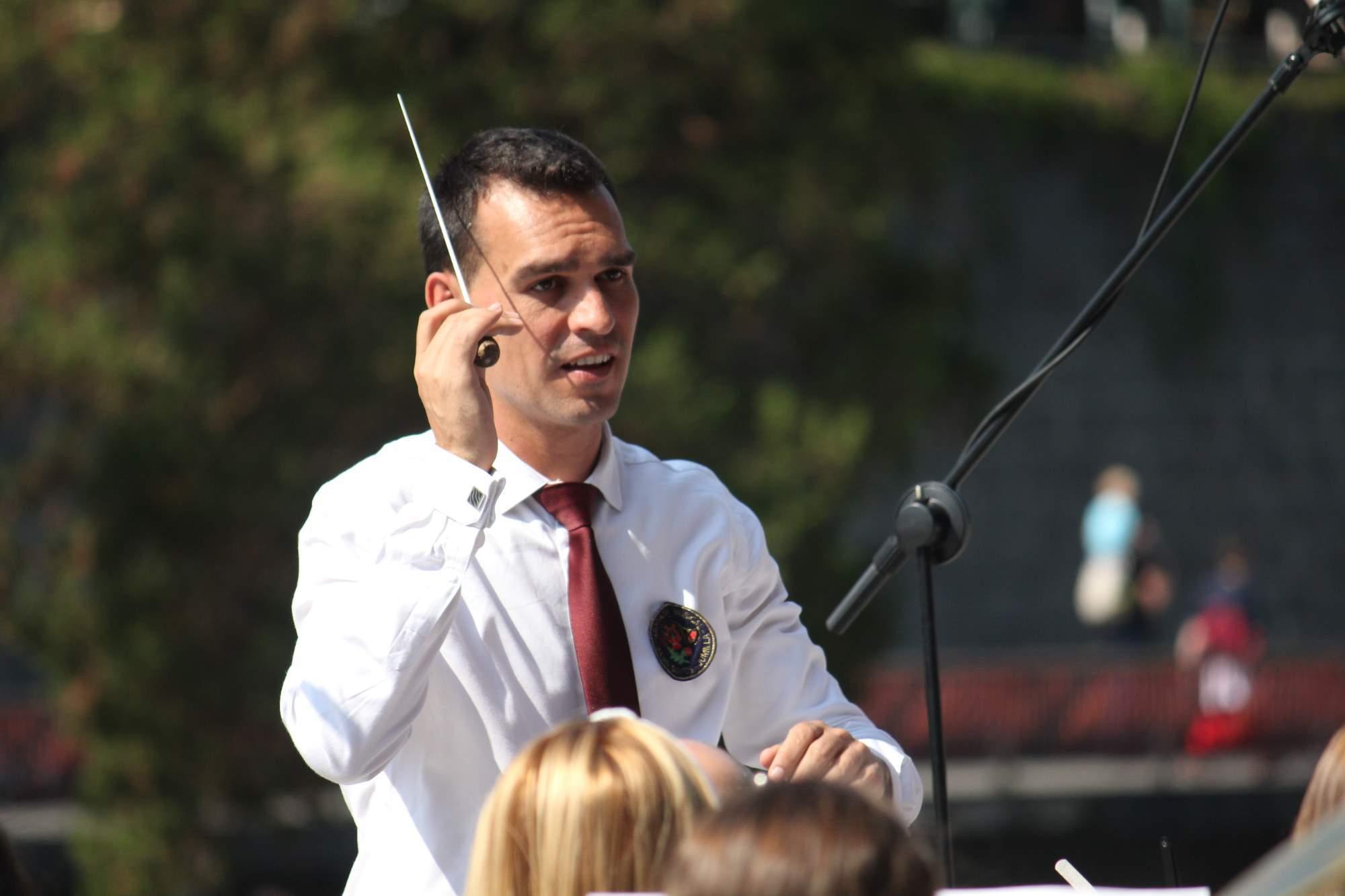 """Salvador Pérez Sánchez: """"Los músicos me transmiten ganas de asumir nuevos retos y seguir creciendo"""""""