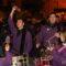Los tamborileros cubrieron de 'gloria' a Juan José Bernal en el toque de honor