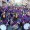 """Tambores y bombos redoblaron en honor a la """"burrica"""" del Domingo de Ramos"""