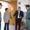 Diego Conesa se interesa por las necesidades de mejora del cuartel de la Guardia Civil