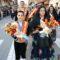 Jumilla venera al Cristo con la tradicional Ofrenda de Flores