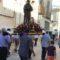 La procesión de San Roque se luce el día de su festividad en plena Feria y Fiestas