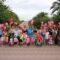 Globos rojos sirven para concienciar sobre el síndrome de Duchenne en Jumilla