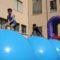 Caluroso éxito de los juegos hinchables acuáticos Drilo Park