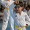 Unos ochenta alumnos de taekwondo lucen nuevo cinturón