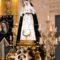 La imagen de la Virgen de las Penas estrena andas, restauradas por Mariano Spiteri